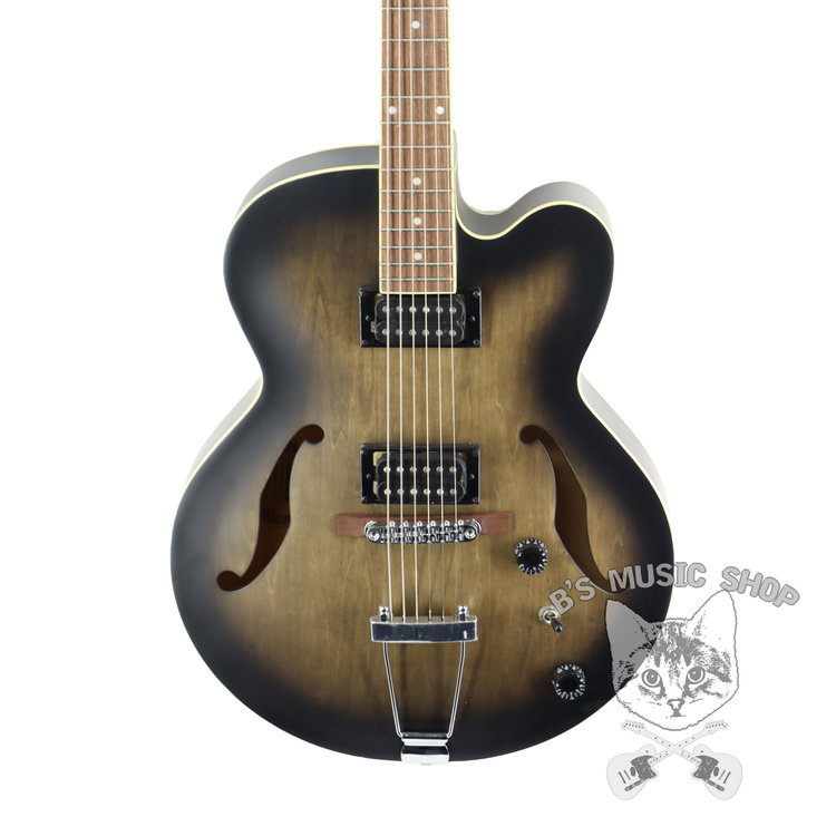 Ibanez Ibanez AF55TKF AF Artcore 6str Electric Guitar - Transparent Black Flat