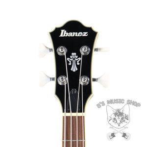 Ibanez Ibanez AFB200 Artcore 4str Electric Hollowbody Bass - Transparent Black Sunburst