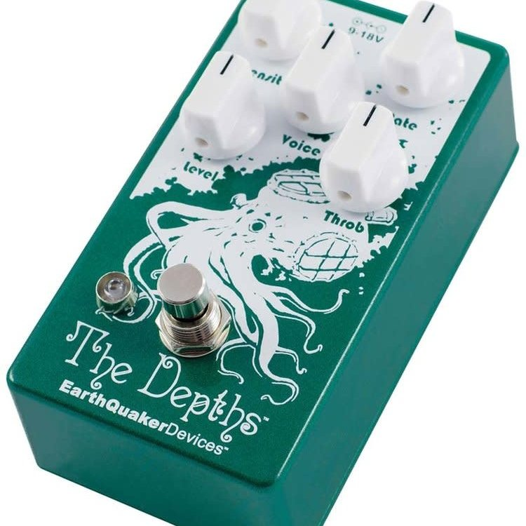 EarthQuaker Devices EarthQuaker Devices The Depths Analog Optical Vibe Machine V2