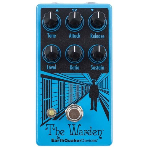 EarthQuaker Devices EarthQuaker Devices The Warden Optical Compressor V2