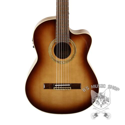 Ortega Ortega RCE238SN-FT - Solid Top Acoustic/Electric Nylon String Guitar - Performer Series - w/ Bag