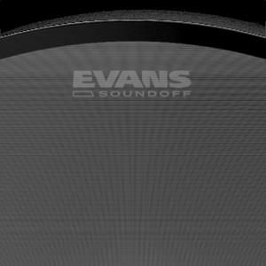 Evans Evans SoundOff Bass Drum Head, 22 inch