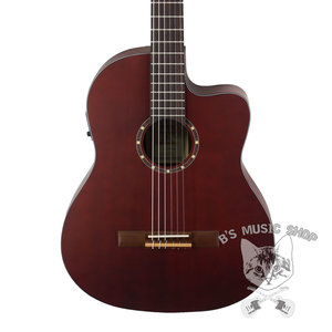 Ortega Ortega RCE125MMSN - Thinline Acoustic/Electric Nylon String Guitar - Family Series - w/ Bag