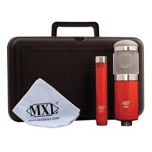 MXL MXL 550/551R: Recording Microphone Kit includes (1) 550 & (1) 551 mic.