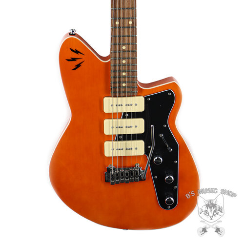 Reverend Reverend Ron Asheton Jetstream 390 in Rock Orange