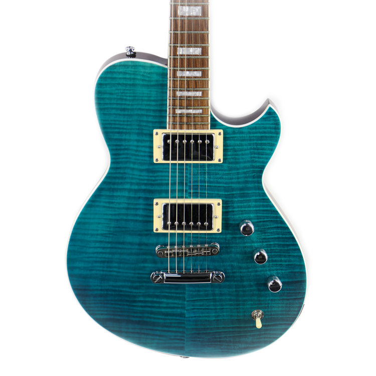 Reverend Reverend Roundhouse FM in Trans Turquoise