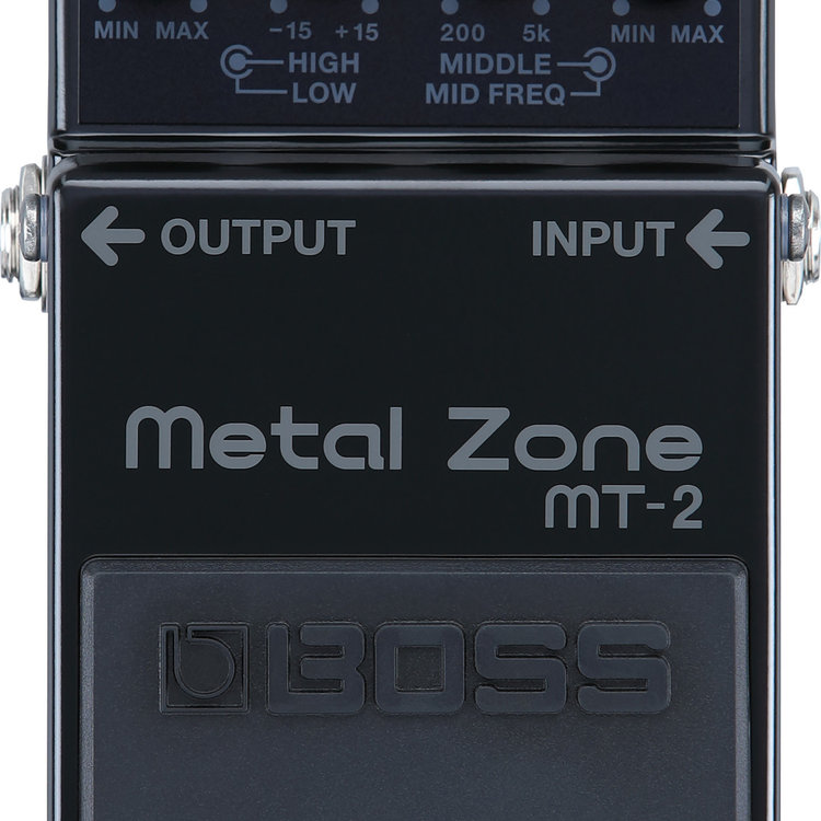 Boss Boss Limited Edition 30th Anniversary MT-2 Metal Zone - All Black Edition