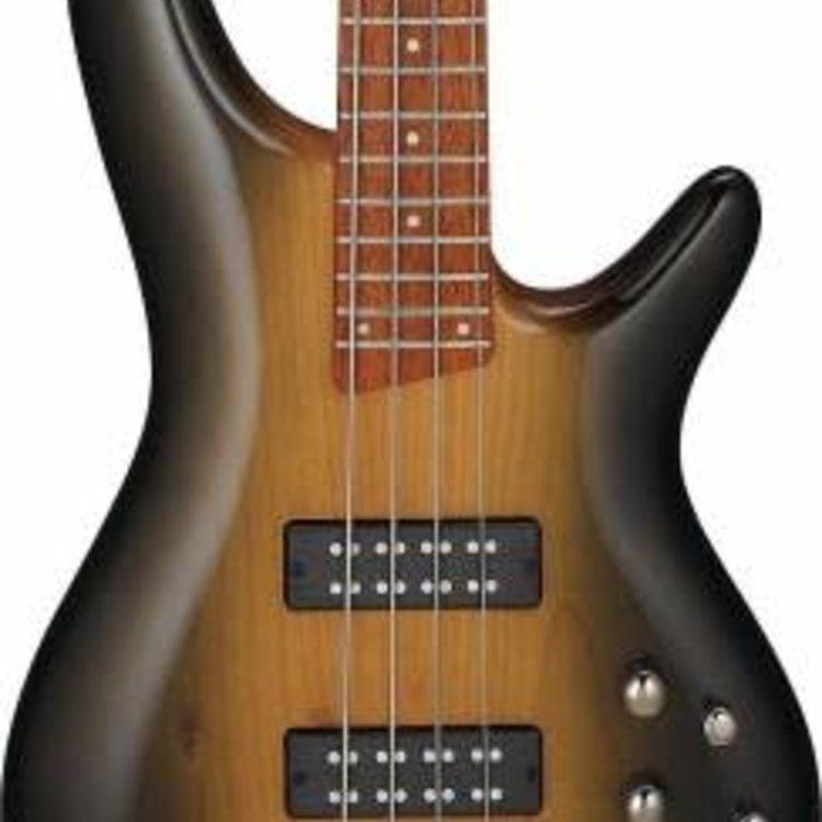 Ibanez Ibanez SR370ESBG SR Standard 4str Electric Bass - Surreal Black Dual Fade Gloss