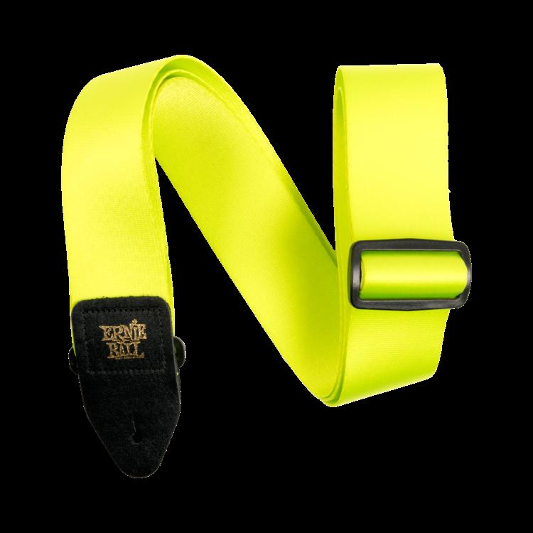 Ernie Ball Ernie Ball Neon Green Premium Strap