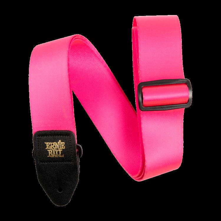 Ernie Ball Ernie Ball Neon Pink Premium Strap
