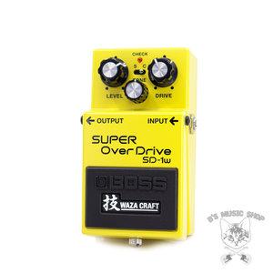 Boss BOSS SD-1W Waza Craft Super Overdrive Pedal