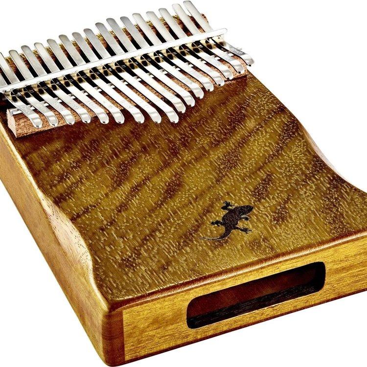 Ortega Ortega OKB3 Kalimba w/Deluxe Case, Cover Bag, Tuning Hammer, & Polishing Cloth