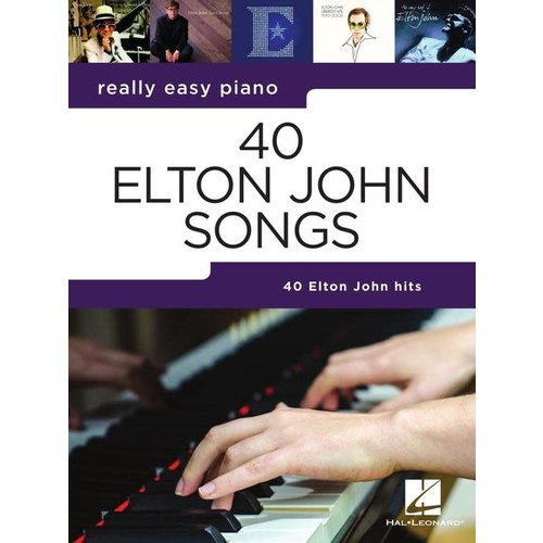 Hal Leonard Really Easy Piano — 40 Elton John Songs