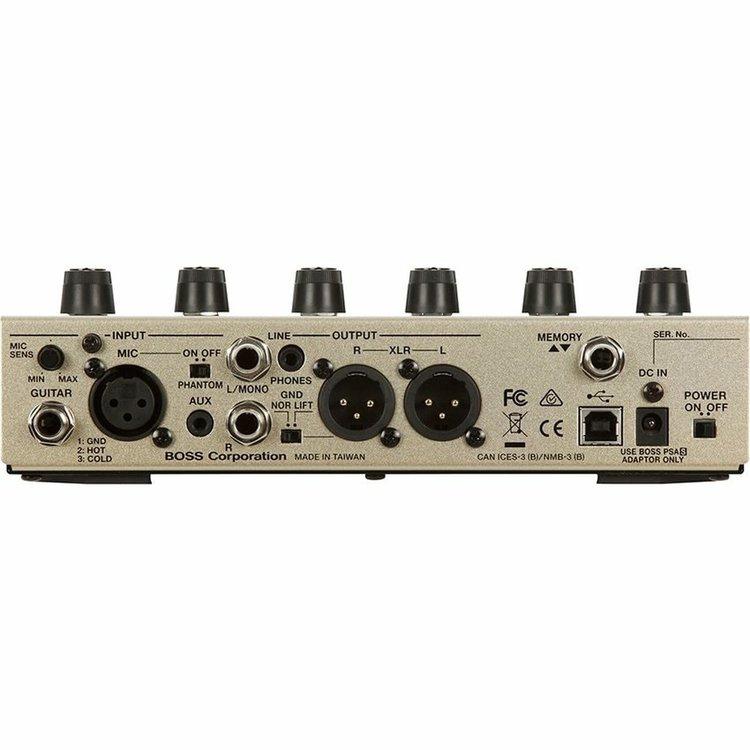 Boss BOSS VE-8 Acoustic Singer Effects Processor Pedal