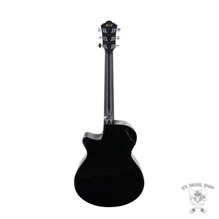 Ibanez Ibanez AEG50BK Acoustic Guitar in Black High Gloss
