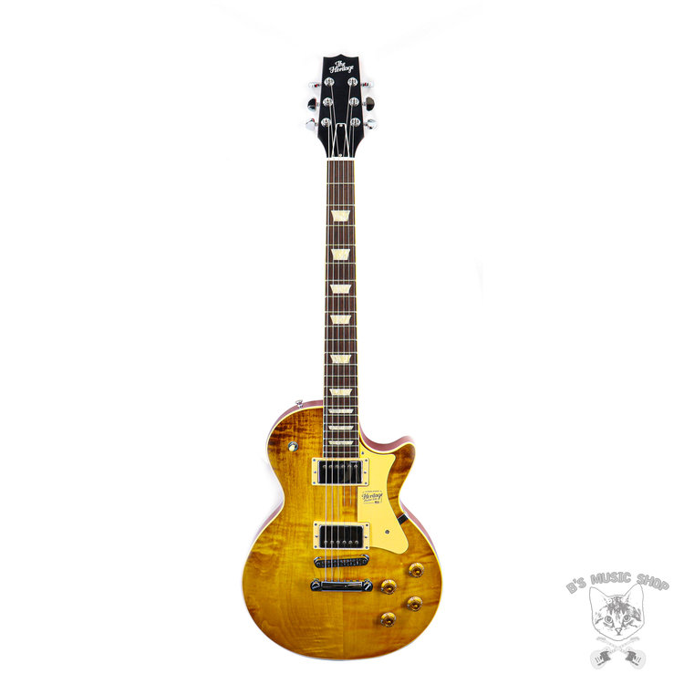 Heritage Heritage Standard Collection H-150 Electric Guitar in Dirty Lemon Burst w/Case