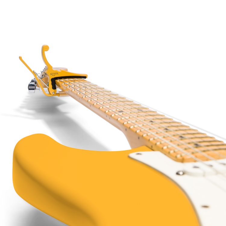 Kyser Fender x Kyser Quick-Change Electric Capo - Butterscotch Blonde