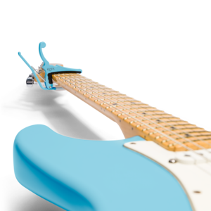Kyser Fender x Kyser Quick-Change Electric Capo - Daphne Blue