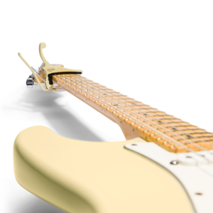 Kyser Fender x Kyser Quick-Change Electric Capo - Olympic White