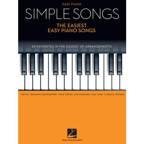 Hal Leonard Simple Songs: The Easiest Piano Songs