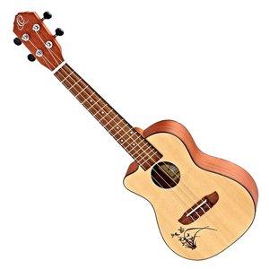 Ortega Ortega Bonfire Series RU5CE-L Concert Acoustic/Electric Lefty Ukulele