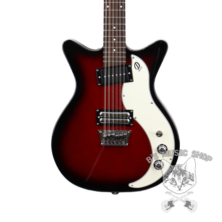 Danelectro Danelectro '59X 12-String  - Red Burst