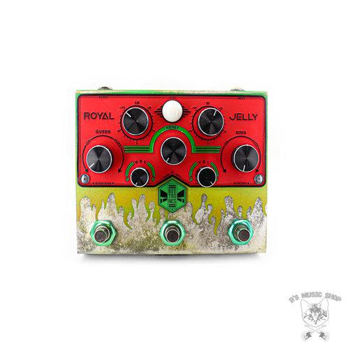 "Beetronics Beetronics Limited Edition ""Toxic Avenger"" Royal Jelly Overdrive/Fuzz Blender"
