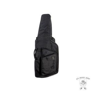 Ibanez Ibanez ICTB721BKF Iceman Iron Label 7str Electric Guitar w/Bag - Black Flat