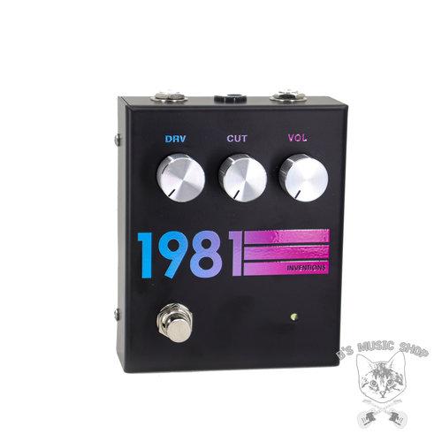 1981 Inventions 1981 Inventions DRV - Black Hyperfade