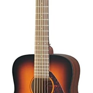 Yamaha Yamaha JR2 TBS 3/4 Scale Semi Jumbo Acoustic Guitar w/Gig Bag - Tobacco Brown Sunburst