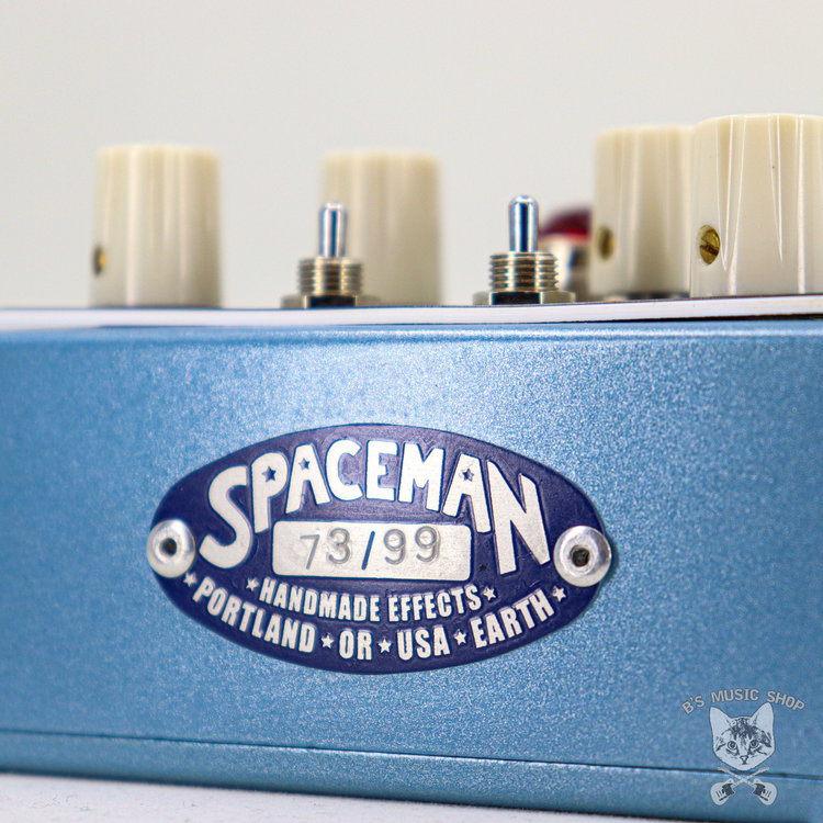 Spaceman Effects Spaceman Polaris Resonant Overdrive in Light Blue