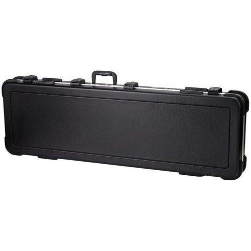 Pro Rock Gear Pro Rock Gear ABS Deluxe Rect. Electric Bass Guitar Case -TSA