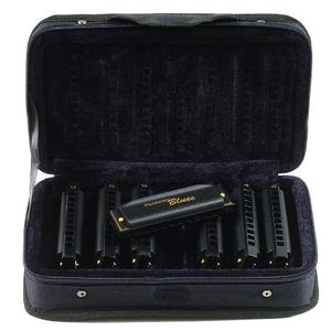 Hohner Hohner Piedmont Blues Bundle - Keys of G,A,C,D,E & Case