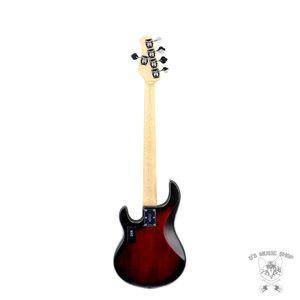 Sterling by Music Man Sterling by Music Man StingRay5 HH in Ruby Red Burst Satin, 5-String