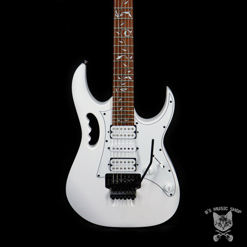 Ibanez Ibanez JEMJRWH Steve Vai Signature 6str Electric Guitar - White