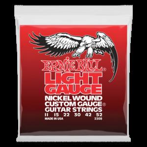 Ernie Ball Ernie Ball Light Nickel Wound w/Wound G Electric Guitar Strings - 11-52 Gauge