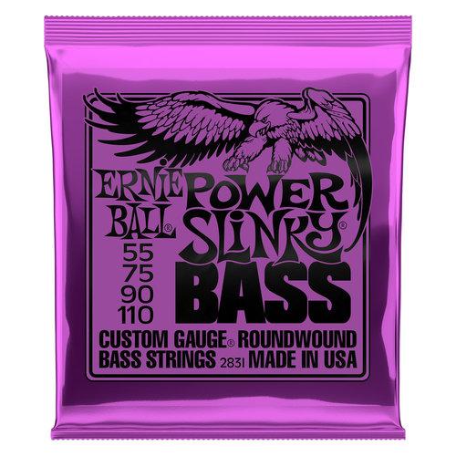 Ernie Ball Ernie Ball Power Slinky Nickel Wound Electric Bass Strings - 55-110 Gauge