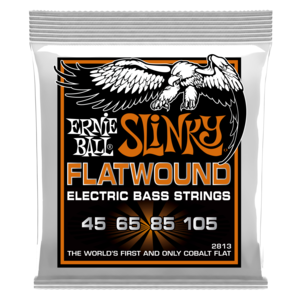 Ernie Ball Ernie Ball Hybrid Slinky Flatwound Electric Bass Strings - 45-105 Gauge