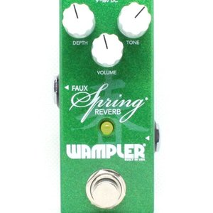 Wampler Wampler Mini Faux Spring Reverb Pedal