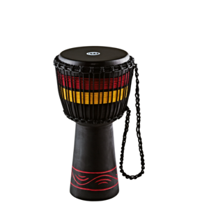 """Meinl Percussion Meinl 10"""" Fire Rhythm Series Original African Style Rope Tuned Wood Djembe"""