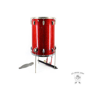 Ludwig Used - Vintage Ludwig/WFL Cocktail Kit w/ Pedal & Stands