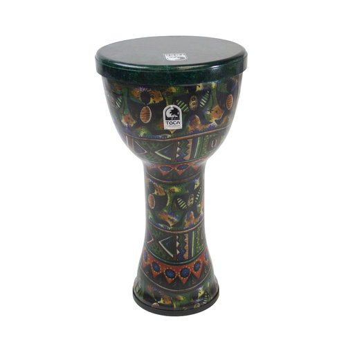 """Toca Toca Freestyle Lightweight 10"""" Djembe - African Dance w/ Bag & Strap"""