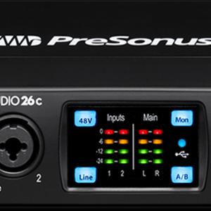 PreSonus PreSonus Studio 26c 2X4 USB-C Audio Interface