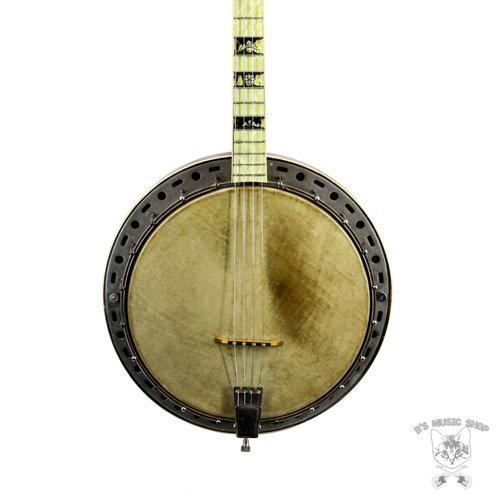 Vintage Melody King Tenor Banjo w/Hard Case