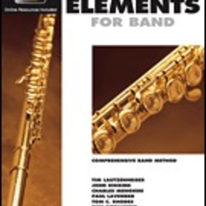 Essential Elements for Band - Flute Book 2 with EEi