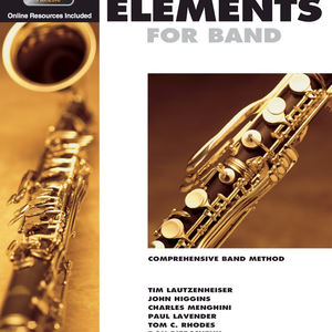 Essential Elements for Band - Bb Bass Clarinet Book 1 with EEi