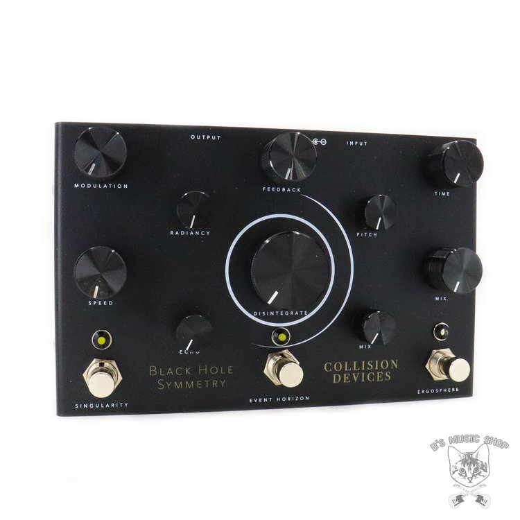 Collision Devices Collision Devices Black Hole Symmetry Modulated Delay / Pitch Shifted Reverb / Destruction Fuzz