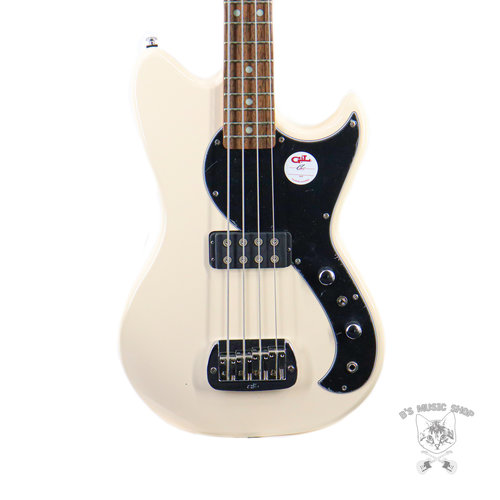 G&L G&L Tribute Fallout Bass - Olympic White