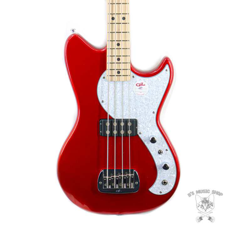 G&L G&L Tribute Fallout Bass - Candy Apple Red