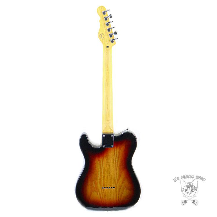 G&L G&L Tribute Bluesboy Semi-Hollow - 3-Tone Sunburst